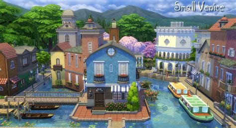 Minecraft Wall Murals mod the sims small venice