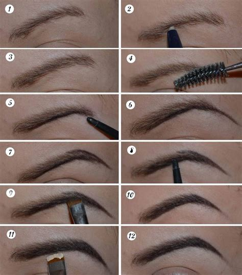 Drawing Eyebrows by How To Draw Eyebrow Fashion And