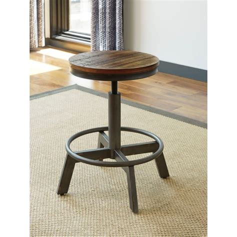 Royal Furniture Bar Stools by Signature Design By Torjin Rustic Stool With
