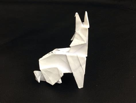 Origami Wolf Tutorial - 268 best images about crafts on