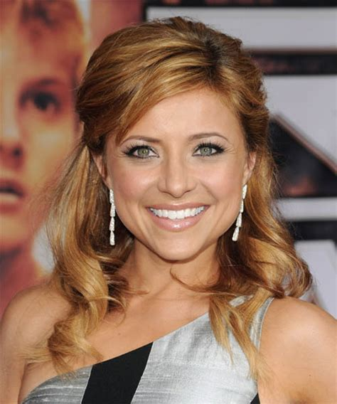 Half Up Formal Hairstyles by Christine Lakin Half Up Curly Formal Half Up Hairstyle