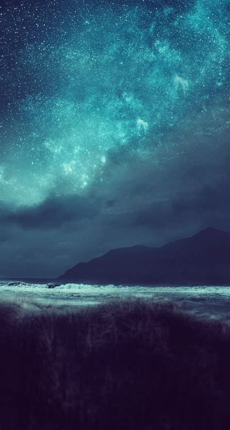 background beautiful hd iphone  night stars