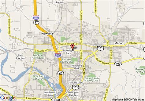 map of cedar rapids iowa map of marriott cedar rapids cedar rapids