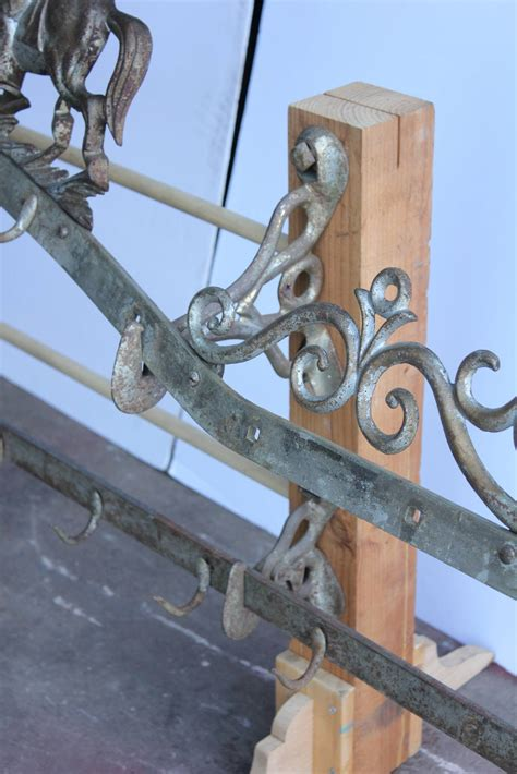 antique two tier butcher rack by gus v brecht at 1stdibs