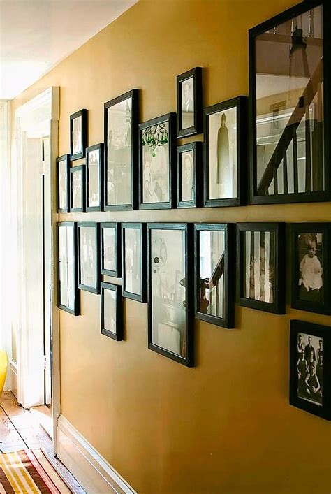 ideas for displaying photos on wall family photo wall display photo wall display ideas exles