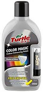 colored car wax turtle wax t4090s silver color magic plus