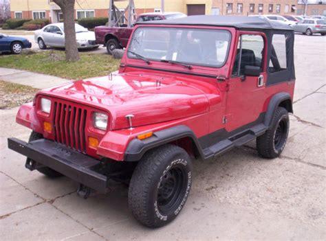 Jeep Wrangler Stick Shift Jeep Wrangler 4x4 4 0 L Softtop Doors Stickshift