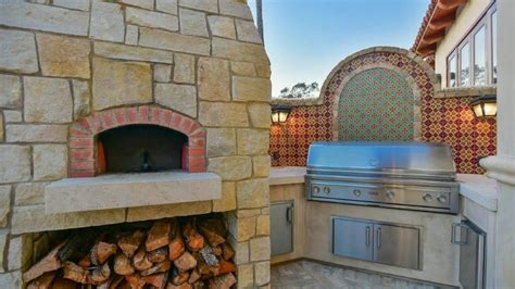 backyard pizza santa fe outdoor kitchens that will make your mouth water realtor