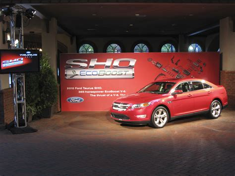 Sho Fast 2010 ford taurus sho review top speed