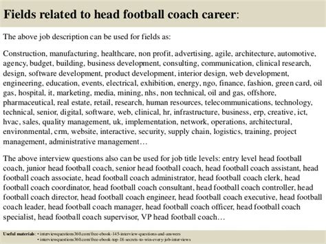 Football Coach Description by Top 10 Football Coach Questions And Answers
