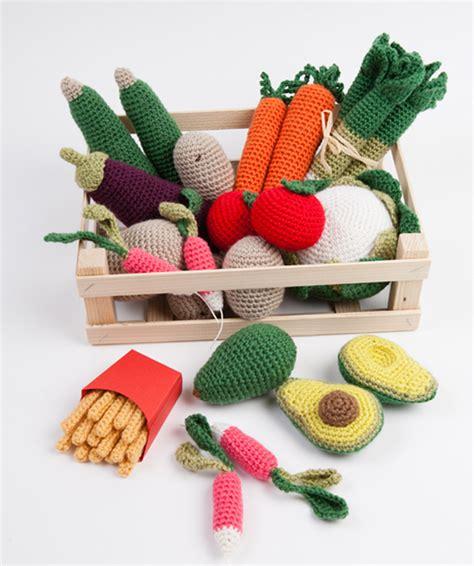 gehaakte groenten en fruit haken en breien