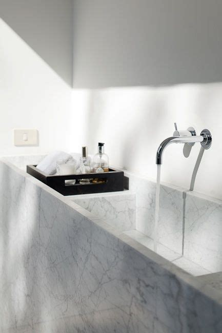 wall mounted marble sink p carara marble sink w wall mounted taps and
