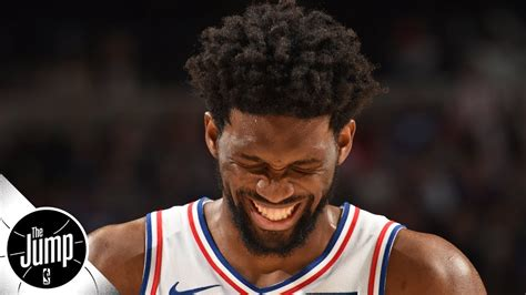 youtube rachel nichols the jump joel embiid does not want to be called fragile rachel