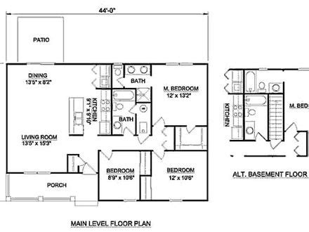 1000 sq ft open floor plans small square bedroom 2 bedroom 1200 square foot house