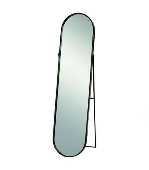 Miroir En Metal by Miroirs Suspendus Ronds En M 233 Tal Noir Et Corde En Jute