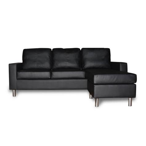 pu leather sofa reviews modular black pu leather sofa w chaise or ottoman