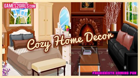 cozy home decor fun  decorating games  girls kids teens youtube