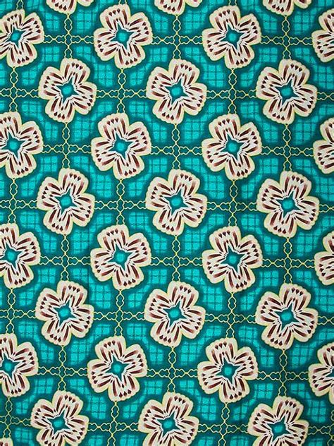 pattern and fabric layout wax print super woodin african fabric 6 yards by