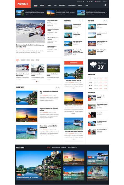 15 Best Blog Magazine Responsive Joomla Themes 15 Best Free Responsive Magazine