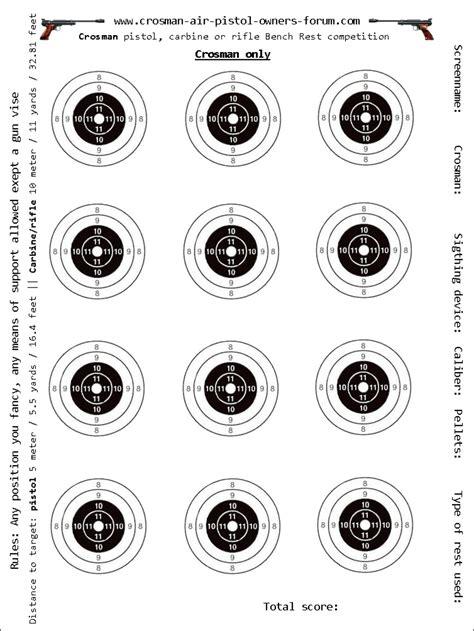 air pistol targets printable homemade pellet trap