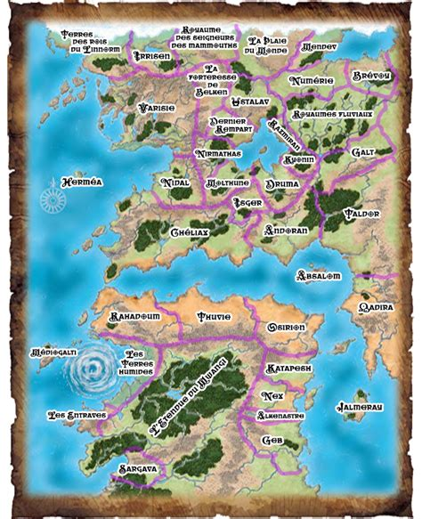 golarion map related keywords golarion map