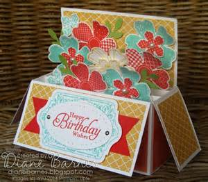 Pop Up Card Box Template by Colour Me Happy Flower Shop Card In A Box With