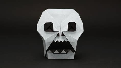Skull Origami - origami skull jo nakashima