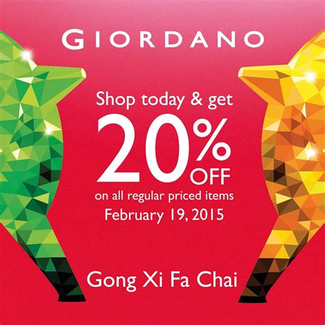 new year in february 2015 giordano new year sale february 2015 manila on sale