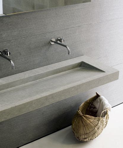 Diy Concrete Trough Sink by Neutra Prodotti In 2019 Bathroom Stuff Concrete Sink