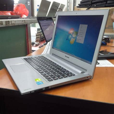 Laptop Lenovo Z410 I5 jual lenovo ideapad z410 i5 4th nvidia gt740m 2gb like new slamet computer
