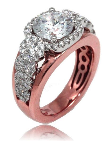 rose gold engagement rings for girls 2 life n fashion
