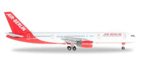 Air Berlin Boeing 757 200 by Scale Model Store Herpa Wings 1 500 526463 Air