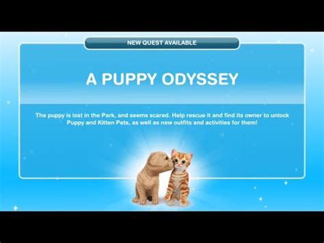 sims freeplay puppy odyssey the sims freeplay a puppy odyssey g 246 revi