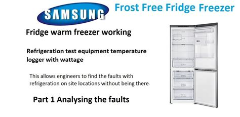 what temperature should the freezer section of a refrigerator be part 1 fridge warm freezer cold how to find the fault and