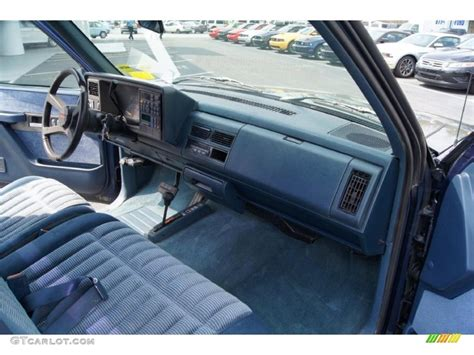 94 Chevy 1500 Interior by Blue Interior 1994 Chevrolet C K K1500 Z71 Regular Cab 4x4