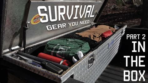 survival truck gear survival gear you need in your cargo box toolbox part