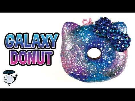 Rainbow Galaxy Moon Bun Squishy diy deco squishy tutorial galaxy