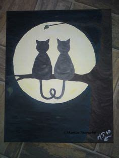 easy cat painting ideas 25 excellent but simple acrylic painting ideas for