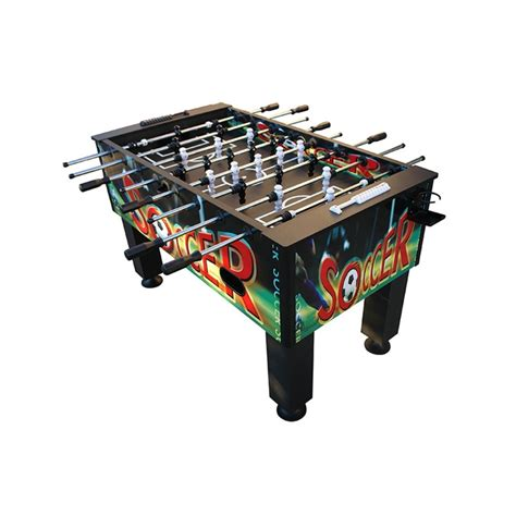 Beliani Foosball Table Soccer Table Top Game Tornado Foosball Table Tornado