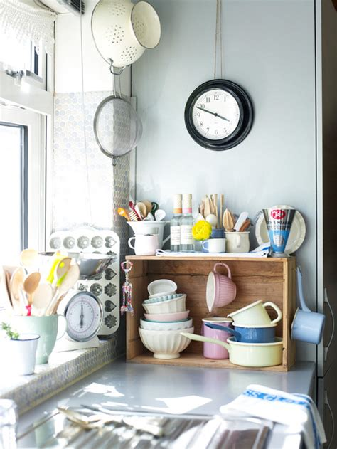 Tempat Bumbu Dapur Vintage kitchen storage ideas that make use of every space