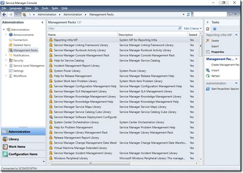management console service manager 2016 review 4sysops