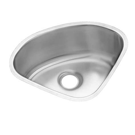 Stainless Steel Undermount Single Bowl Kitchen Sink Filament Design Cantrio Undermount Stainless Steel 20 In Single Bowl Kitchen Sink Kss 2018