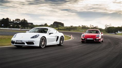 porsche vs porsche 718 cayman s vs cayman gts nz comparison test 2017
