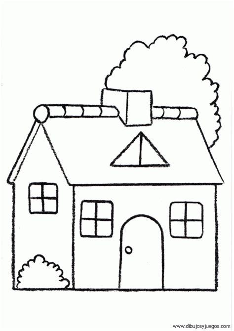 imagenes para pintar la casa dibujos de casas 019 dibujos y juegos para pintar y