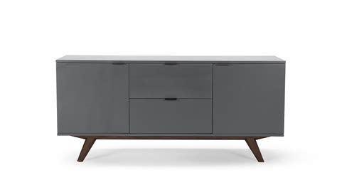 sideboard eiche aveiro sideboard stain oak and grey made