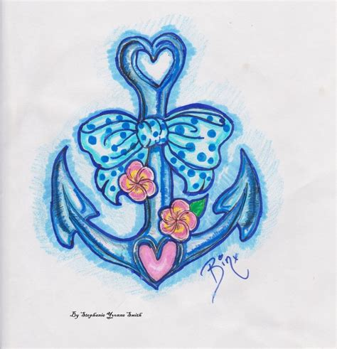 girl anchor tattoo designs anchor tattoos and designs page 557