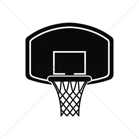 basketball clipart vector basketball hoop vector image 1979513 stockunlimited