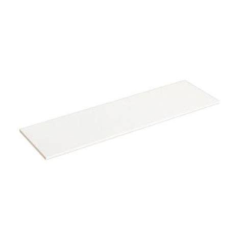 White Laminate Shelf by Closetmaid Selectives 48 In White Laminate Shelf 7034
