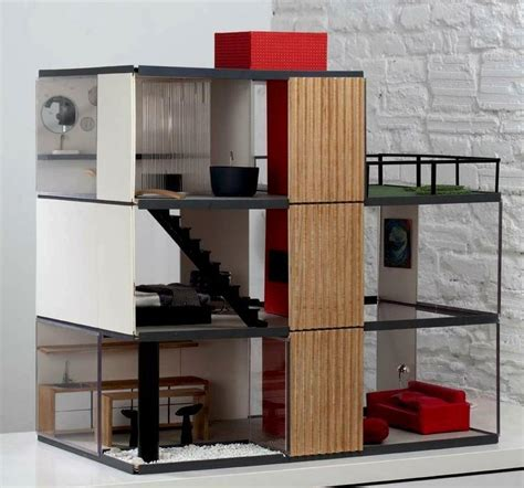 Mid Century Design choosing doll house modern modern house design