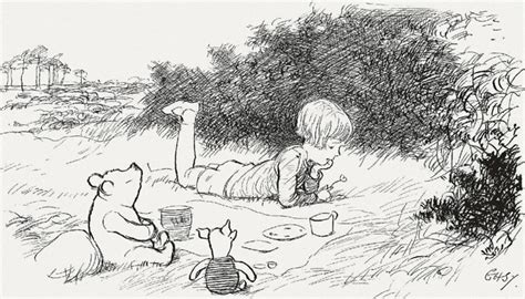 E H Shepard Sketches by E H Shepard Illustration Central